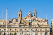 Basilica of Senglea in Malta. — Foto Stock