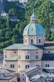 The Salzburg Cathedral (Salzburger Dom) at Salzburg, Austria — 图库照片
