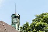 New town hall esslingen am neckar, almanya — Stok fotoğraf