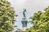 Jubilee Column at Castle Square in Stuttgart, Germany — Stock Photo