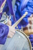 Tamborrada Drum Gathering at Calanda, Spain — Stock Photo