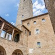 City-hall building in San Gimignano, Italy — Stock Photo