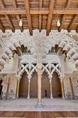 Aljaferia sarayı, zaragoza, i̇spanya — Stok fotoğraf
