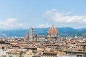 The Basilica di Santa Maria del Fiore in Florence, Italy — Stock Photo