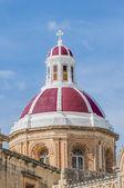 Iglesia de san pedro en marsaxlokk, malta — Foto de Stock