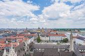 ミュンヘン neues rathaus タワーから見たビュー. — ストック写真