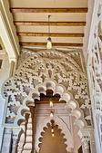 Palácio da aljaferia em zaragoza, espanha — Foto Stock