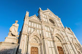 A basílica da santa cruz em florença, itália — Foto Stock