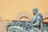 козимо ди джованни дельи статую медичи во флоренции, италия — Стоковое фото