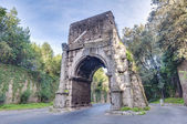 Arch of Drusus in Rome, italy — Stock Photo