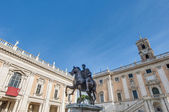 Piazza del Campidoglio in Rome, Italy. — Stock Photo