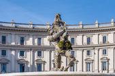 Piazza della Repubblica in Rom, Italien — Stockfoto