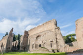 The Baths of Caracalla in Rome, Italy — Stock Photo