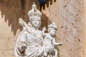 Igreja carmelita em mdina, malta — Foto Stock