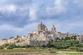 Saint Paul's Cathedral in Mdina, Malta — Стоковое фото