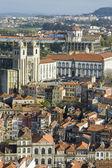 Porto skyline from Clerigos tower, Portugal — Foto Stock