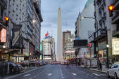 The Obelisk (El Obelisco) in Buenos Aires. — Stock Photo