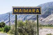 Maimara on Quebrada de Humahuaca in, Argentina. — Stock Photo