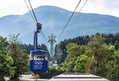 Patscherkofel teleferic in Igls, Austria. — Stock Photo