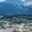 General view of Innsbruck in western Austria. — Stock Photo #38303865