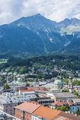 General view of Innsbruck in western Austria. — ストック写真