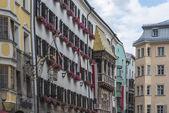 The Golden Roof in Innsbruck, Austria. — Стоковое фото