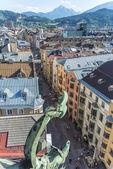 Herzog Friedrich Street in Innsbruck, Austria. — Foto Stock