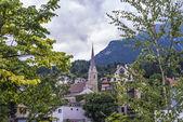 Saint Nicholas parish church in Innsbruck, Austria — Stock Photo