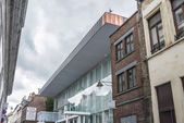 Bam (beaux-arts museum) in mons, belgien. — Stockfoto