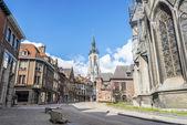 The belfry (French: beffroi) of Tournai, Belgium — Stockfoto