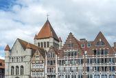 La grand place de tournai en Belgique — Photo