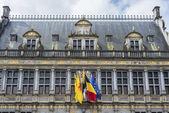 Tournai town hall in Belgium. — Stock Photo