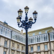 Stock Photo: Maria Pita Square in A Coruna, Galicia, Spain