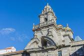 Santo domingo in a coruña, galicien, spanien — Stockfoto