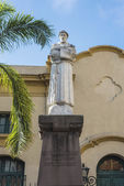 St. Francis of Assisi statue in Jujuy, Argentina. — Stockfoto