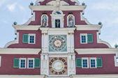 Stary ratusz w esslingen am nechar, niemcy — Zdjęcie stockowe
