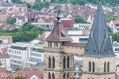 Kościół saint dionizy w esslingen am neckar, niemcy — Zdjęcie stockowe