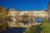The Ponte Vecchio (Old Bridge) in Florence, Italy. — Zdjęcie stockowe