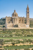 Ta' Pinu church near Gharb in Gozo, Malta — Stockfoto