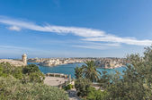 La Valletta Grand Harbour, Malta — Stock Photo