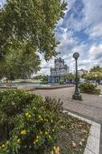San Martin Square in Gualeguaychu, Argentina. — Foto Stock