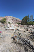 Cemetery in Purmamarca, Jujuy, Argentina. — Stock Photo