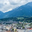 Stock Photo: General view of Innsbruck in western Austria.
