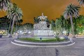 9 de Julio Square in Salta, Argentina — Stock Photo