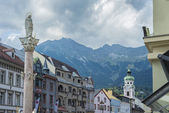 святой анны столбец в инсбруке, австрия. — Стоковое фото