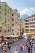 The Helblinghaus in Innsbruck, Austria. — Stock Photo