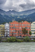 Mariahilf Street in Innsbruck, Austria. — Stock Photo