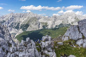 Nordkette mountain in Tyrol, Innsbruck, Austria. — Stock Photo