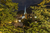 Saint Nicholas parish church in Innsbruck, Austria — Stock Photo