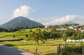 Oberperfuss village near Innsbruck, Austria. — Stock Photo